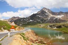 Alpes em Italy imagens de stock