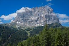 Alpes et nuages italiens Photographie stock