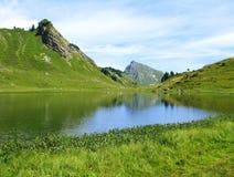 Alpes français Photo libre de droits