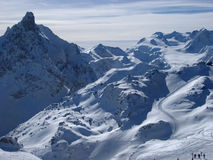 Alpes français Photo stock