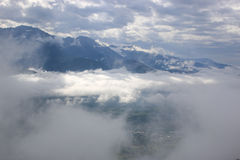 Alpes français Photos libres de droits