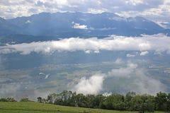 Alpes français Photos stock
