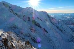 Alpes franceses Fotos de Stock Royalty Free