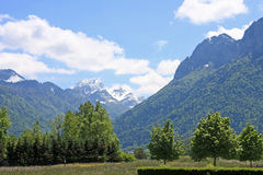 Alpes franceses Fotos de Stock