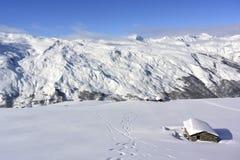 Alpes franceses Imagem de Stock Royalty Free