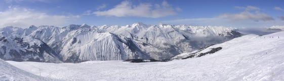 Alpes franceses Fotografia de Stock Royalty Free