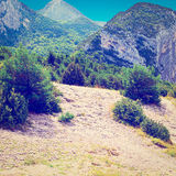 Alpes franceses Imagens de Stock Royalty Free