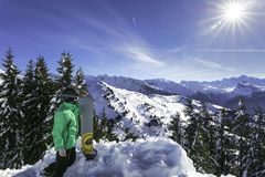 Alpes, Frankreich stockfoto