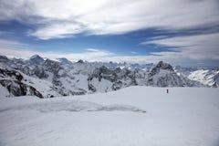 Alpes Frankrike Royaltyfri Foto