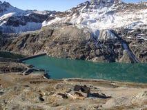 Alpes - glacier de Moelltal Photographie stock