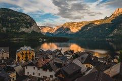Alpes Hallstatt image stock