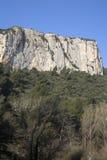 Alpes Haute, parco di Luberon fuori del villaggio di Lourmarin, Provenza Fotografia Stock Libera da Diritti