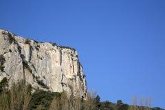 Alpes Haute, parco di Luberon fuori del villaggio di Lourmarin, Provenza Fotografie Stock