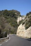 Alpes Haute, parco di Luberon fuori del villaggio di Lourmarin, Provenza Fotografia Stock