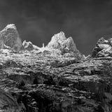 Alpes italianos Imagem de Stock Royalty Free
