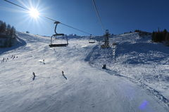 Alpes Italie de Dolomti Image stock