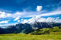 alpes Italie Tyrol du sud Image stock