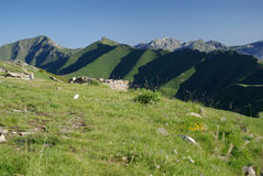 alpes italiennes photo stock