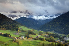 Alpes italiens. Photographie stock