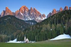 Alpes italiens. Image libre de droits