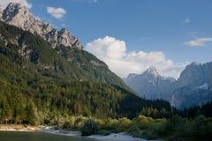 Alpes julianos em Slovenia Imagem de Stock Royalty Free