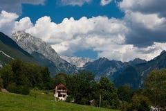 Alpes juliens en Slovénie Photographie stock libre de droits