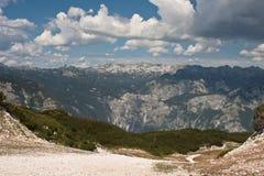 Alpes juliens en Slovénie Images libres de droits