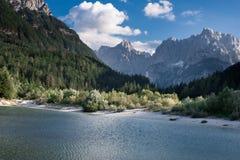 Alpes juliens en Slovénie Photos libres de droits