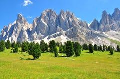 Alpes l'été photographie stock
