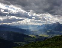 Alpes le Tirol à l'été Image libre de droits