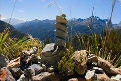 Alpes méridionaux Image libre de droits