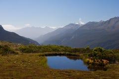 Alpes méridionaux Images stock