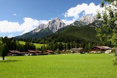 Alpes - Maria Alm Imagens de Stock