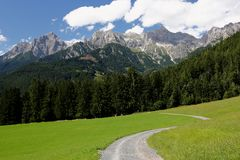 Alpes - Maria Alm Fotos de Stock Royalty Free