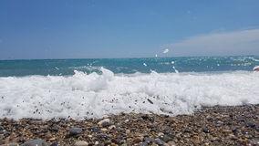 Alpes maritimes法国méditerranéenne 免版税图库摄影