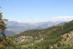 Alpes Maritimes. Fotografie Stock Libere da Diritti