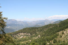 Alpes Maritimes. Royalty Free Stock Photos