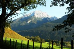 Alpes mountain in summer is aloso beautiful Stock Photos