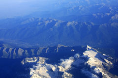 Alpes mountains Royalty Free Stock Images