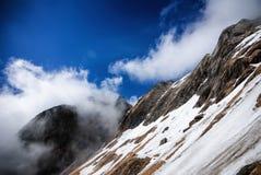 Alpes Mt d'Apuan Cavallo image libre de droits