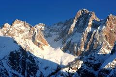 Alpes slovènes Images stock