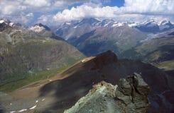 Alpes suíços Imagens de Stock Royalty Free
