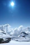 Alpes suíços foto de stock