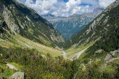 Alpes suíços Fotos de Stock