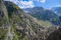 Alpes suíços Foto de Stock Royalty Free