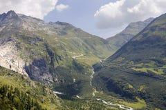 Alpes suíços Imagem de Stock Royalty Free