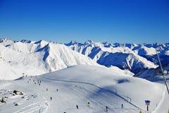 Alpes Suisse Autriche de montagnes images stock