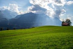 Alpes suisses photo libre de droits