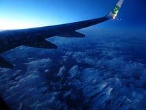 alpes suisses d'en haut Photographie stock