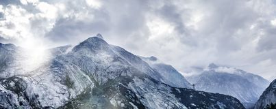 Alpes suisses image stock